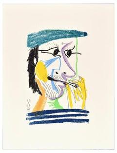 Le goût du Bonheur - 20.5.64 III - Original Lithograph After P. Picasso