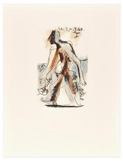 Le goût du Bonheur - 20.9.64 I - Original Lithograph After P. Picasso