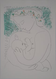 Maternity - Lithograph (Tall Size)