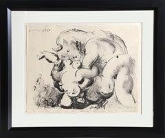 """""""Minotaure Violant Une Femme"""" Lithograph by Pablo Picasso"""