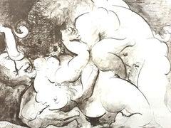 Pablo Picasso (after) - Minotaur - Lithograph