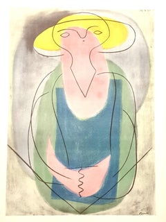 Pablo Picasso (after) - Portrait of a Lady - Lithograph
