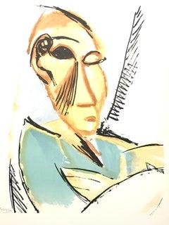 After Pablo Picasso - Study For Demoiselles d'Avignon - Lithograph Reproduction