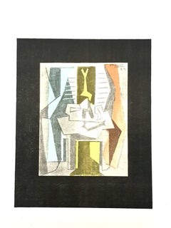 Pablo Picasso (after) - Table Before Winfow - Lithograph