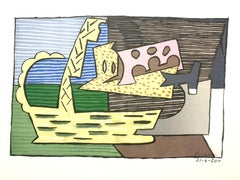 Pablo Picasso (after) - The Basket - Lithograph
