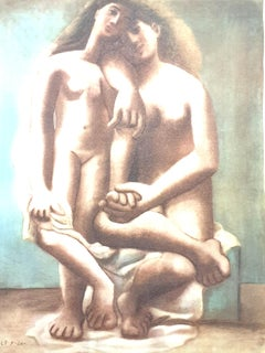 Pablo Picasso (after) - Two Nudes - Lithograph