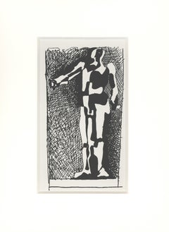 """Pablo Picasso (after) Woodcut from """"Helene Chez Archimede"""""""