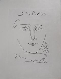 Portrait of Roby - Etching (Bloch #680)