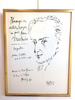 Poster Tribute to Antonio Machado