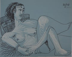 Seated Nude - Lithograph (Mourlot 1971)
