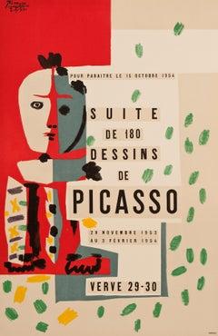 Suite de 180 Dessins de Picasso (after) Pablo Picasso, 1954