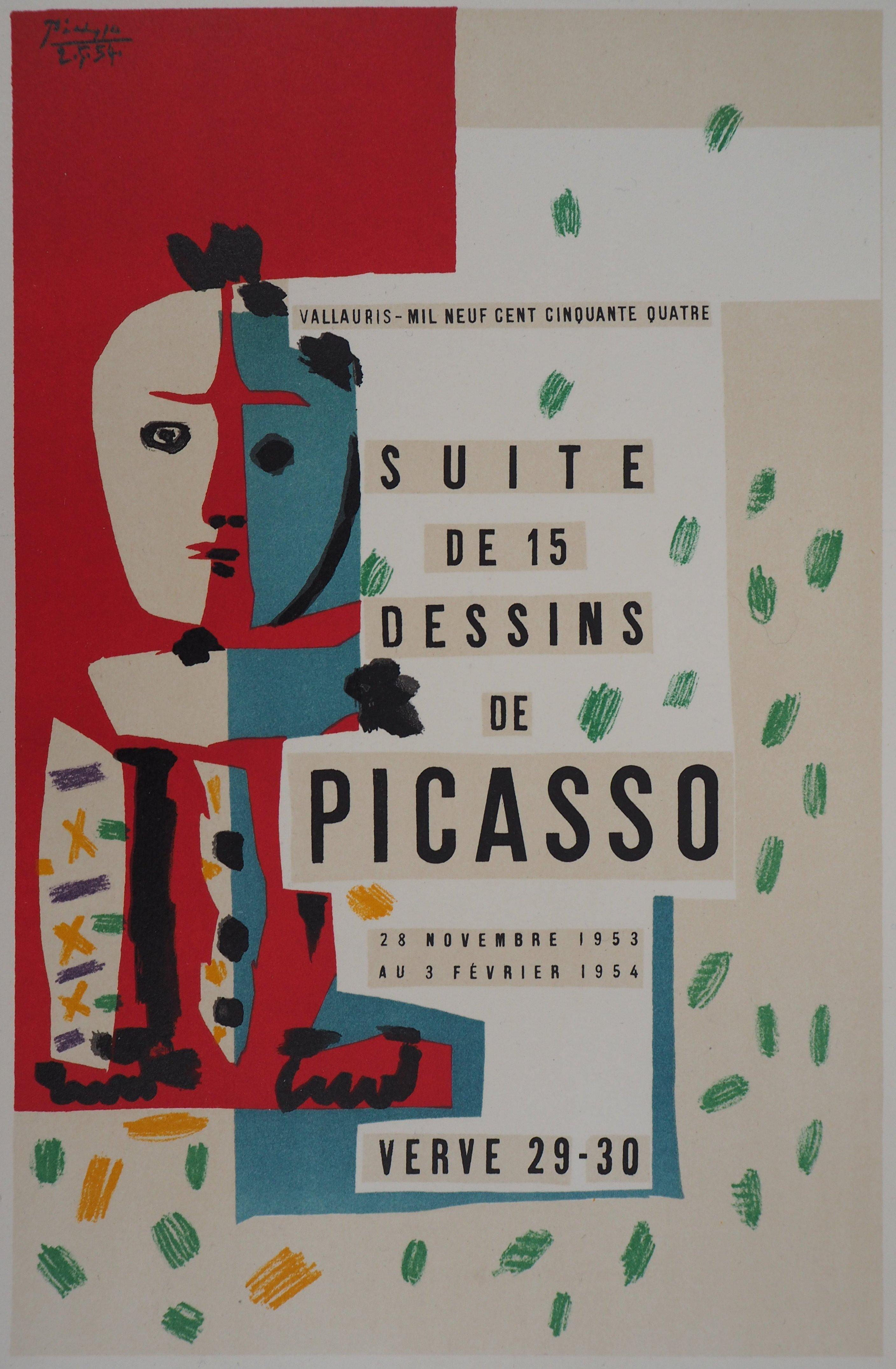 Suite de Dessins Cover Illustration - Lithograph