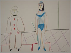 The Two Artists of the Circus - Lithograph - Verve, Mourlot