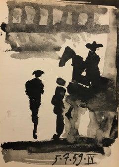 (Title Unknown) Toros y toreros No. 7. Reprint.