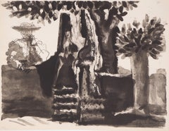 Toros :  Conversation of a Toreador and Two Women - Lithography