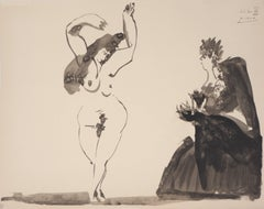 Toros : The Spanish Dancer - Lithograph, Limited 500 copies, 1960