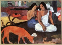 """Arearea (Joyfully),"" Giclee Print after 1892 Oil Painting by Paul Gauguin"