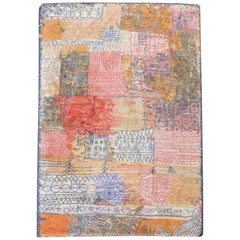 After Paul Klee Scandinavian Rug Florentinische Villenviertel