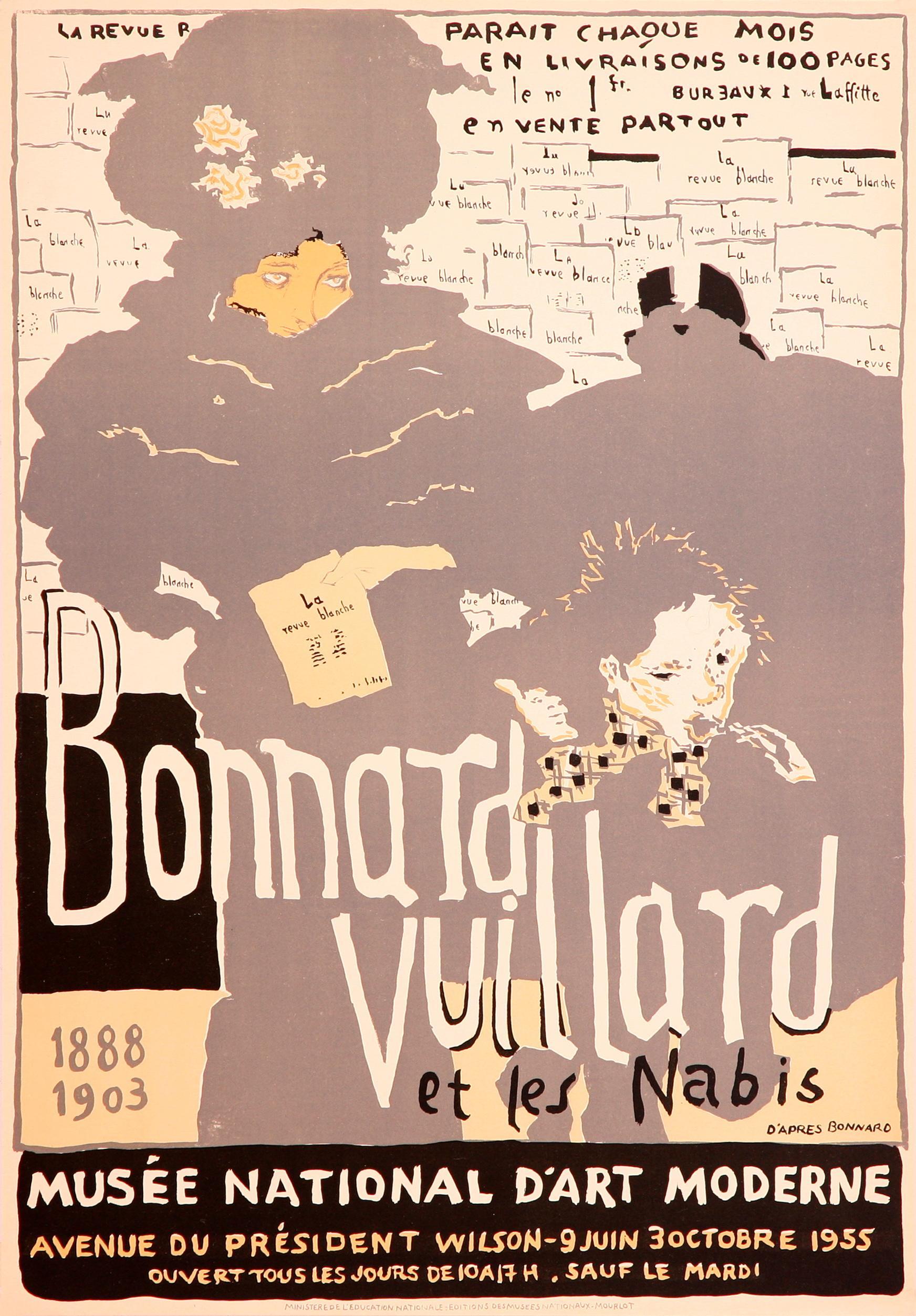 Bonnard Vuillard - Musée National D'Art Moderne (after) Pierre Bonnard, 1955
