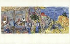 1965 Raoul Dufy 'Les Moissonneurs' France Lithograph