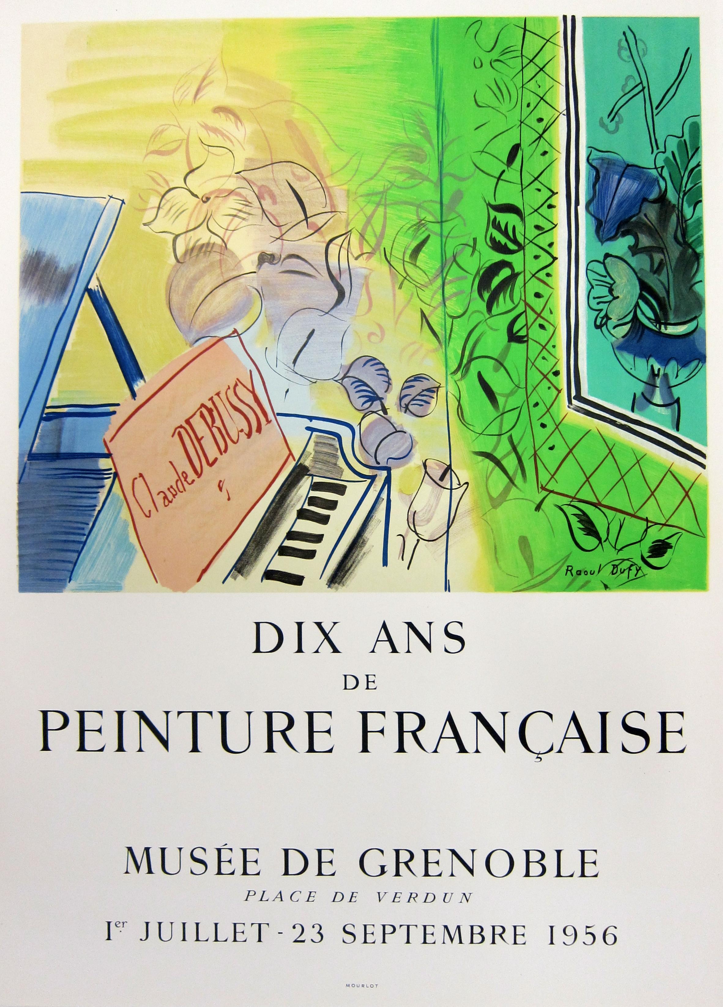 Homage to Claude Debussy - Institut Français D'Écosse (after) Raoul Dufy, 1966