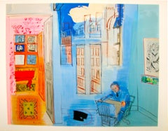 L'atelier (after) Raoul Dufy, Lithograph, 1969