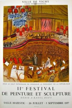 Le Grand Concert - II e Festival de Peinture et Sculpture (after) Raoul Dufy, 19