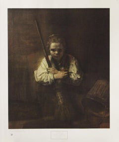 A Girl With A Broom-Poster. New York Graphic Society Ltd.