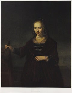 Portrait Of The Admiral's Wife-Poster. New York Graphic Society.