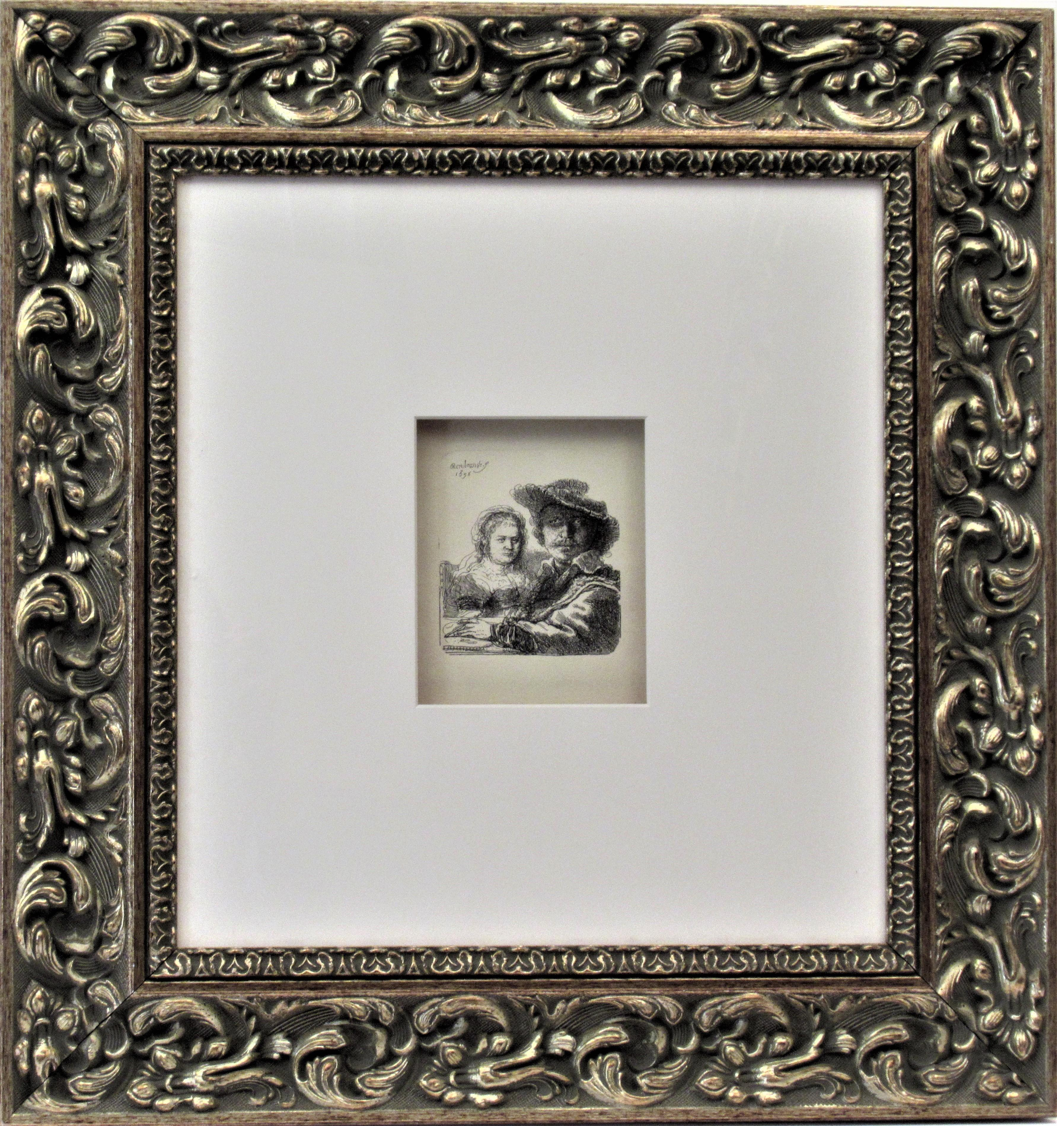 Rembrandt with his Wife Saskia