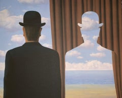 Décalcomanie - 20th Century, Surrealist, Lithograph, Figurative Print