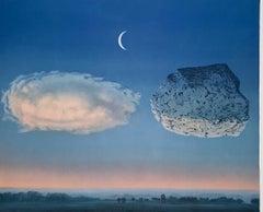 La Bataille De L'Argonne - 20th Century, Surrealist, Lithograp, Figurative Print