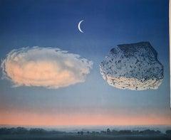 La Bataille de l'Argonne - 20th Century, Surrealist, Lithograph, Figurative Prin
