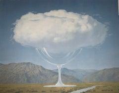 La Corde Sensible - 20th Century, Surrealist, Lithograph, Figurative Print