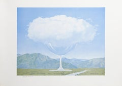 La Corde Sensible, Surrealist Lithograph after Magritte