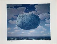 La Flèche De Zénon - 20th Century,Surrealist, Lithograph, Figurative Print