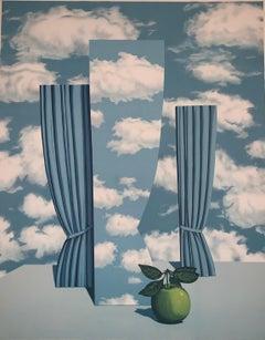 Le Beau Monde - 20th Century, Surrealist, Lithograph, Figurative Print