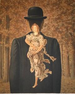 Le Bouquet tout fait - 20th Century, Surrealist, Lithograph, Figurative Print