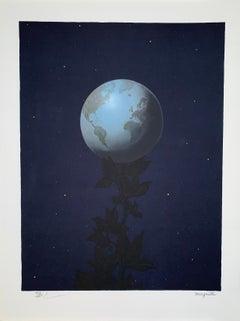 Le Grand Style - 20th Century,Surrealist, Lithograph, Figurative Print