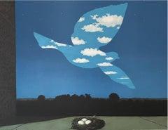 Le Retour - 20th Century, Surrealist, Lithograph, Figurative Print