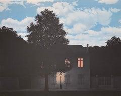 L'Empire des Lumières - 20th Century, Surrealist, Lithograph, Figurative Print