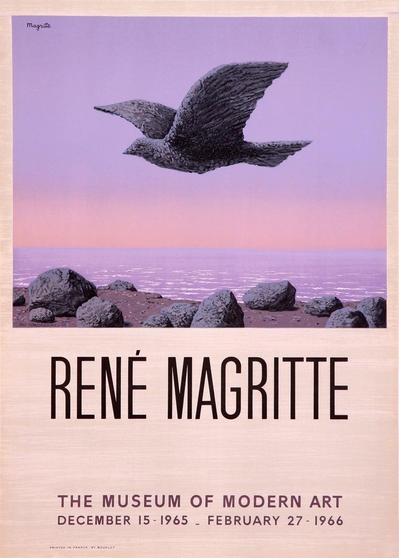 (after) René Magritte Print - L'Idole - Museum of Modern Art (after) Rene Magritte, 1966