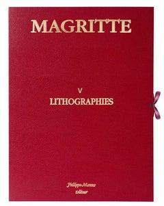 Magritte Portfolio V 20 lithographs- 20th Century, Surrealist, Figurative Print