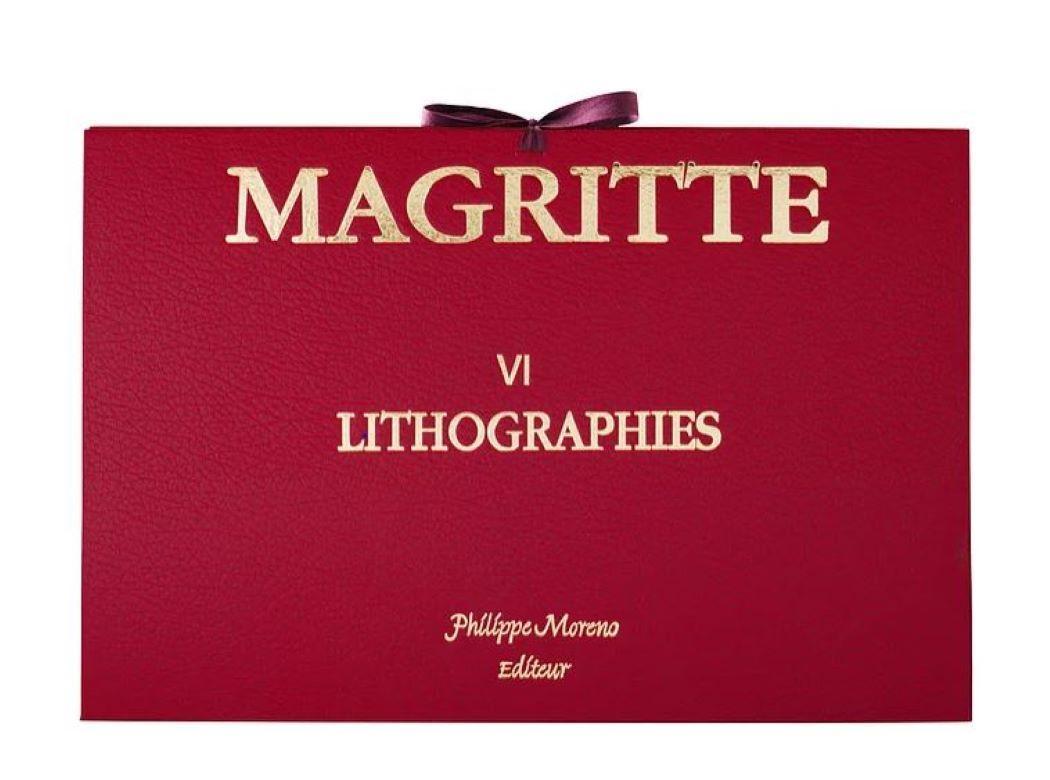 Magritte Portfolio VI 16 lithographs- 20th Century, Surrealist, Figurative Print