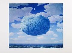 RENÉ MAGRITTE - LA FLÈCHE DE ZÉNON - Limited edition Lithograph - Surrealism