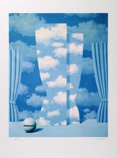 RENÉ MAGRITTE - LA PEINE PERDUE - Limited ed. Lithograph Surrealism
