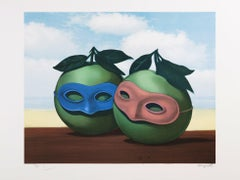 RENÉ MAGRITTE - La valse hesitation - Limited edtiion Lithograph - Surrealism