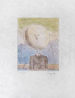 RENÉ MAGRITTE - L'Art de Vivre - Limited ed. Etching & Aquatint  Surrealism