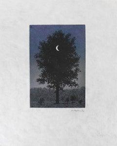 RENÉ MAGRITTE - Le 16 Septembre - Limited ed. Etching & Aquatint  Surrealism