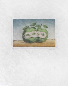 RENÉ MAGRITTE - Le Prêtre Marié - Limited ed. Etching & Aquatint  Surrealism